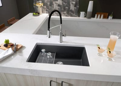Blanco-Precis-30-Single-Kitchen-Sink-Empressa-Semi-Pro-Kitchen-Faucet---GL1