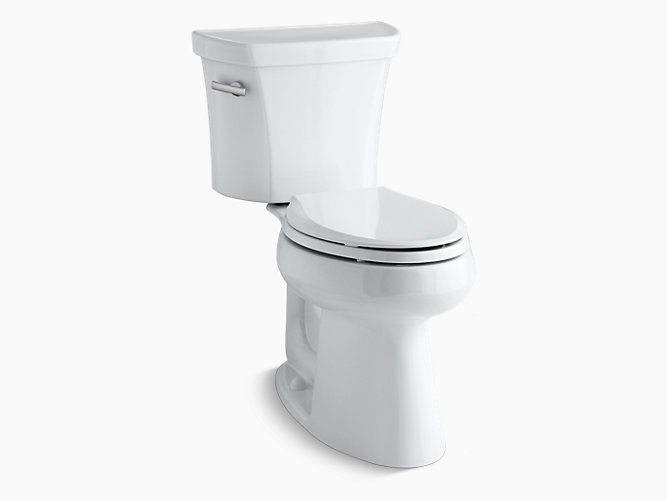 Kohler 3889 0 Highline Comfort Height 2 Pc Elongated