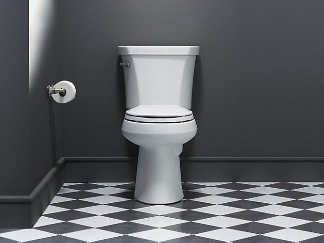 Fabulous Kohler 3979 0 Highline Comfort Height 2 Pc Elongated Toilet Inzonedesignstudio Interior Chair Design Inzonedesignstudiocom