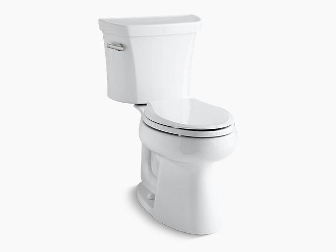 Remarkable Kohler 3979 0 Highline Comfort Height 2 Pc Elongated Toilet Inzonedesignstudio Interior Chair Design Inzonedesignstudiocom