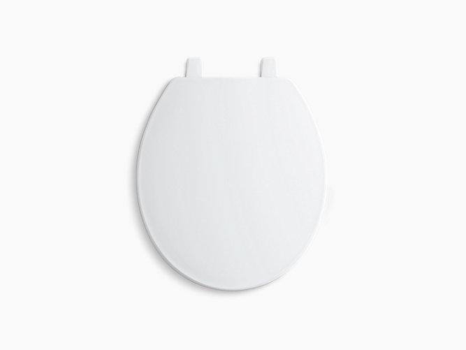 Kohler 4775 0 Brevia Quick Release Round Seat In White