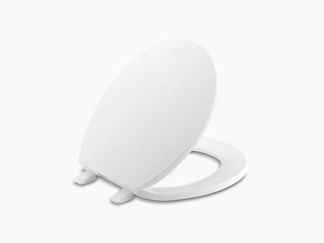 Pleasing Kohler 4775 0 Brevia Quick Release Round Seat In White Camellatalisay Diy Chair Ideas Camellatalisaycom