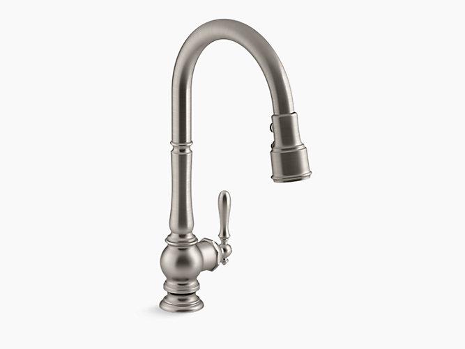 Kohler 99259 Vs Artifacts Pulldown Kitchen Faucet In