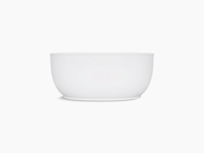 Kohler 24002 0 Sunstruck 60 Quot X34 Quot Freestanding Tub In White