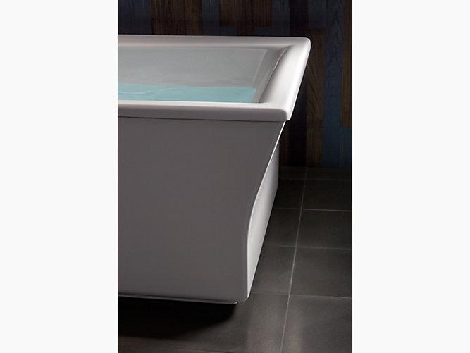 Kohler 24010 0 Stargaze 60 Quot X34 Quot Freestanding Tub In White