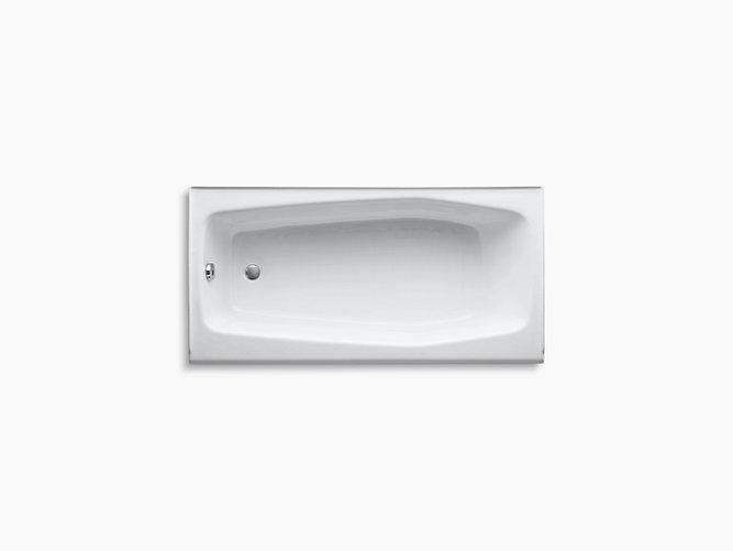 Kohler 715 0 14 Quot Cast Iron Tub In White Left Hand Park