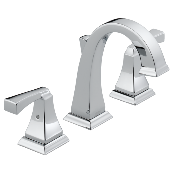 Delta 3551lf Dryden Two Handle Widespread Lavatory Faucet Chrome Park Supply Company